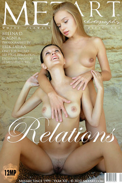 RELATIONS: MILENA D & AGNI A by ERIK LATIKA