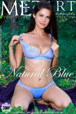 NATURAL BLUE: MARTINA MINK by MATISS